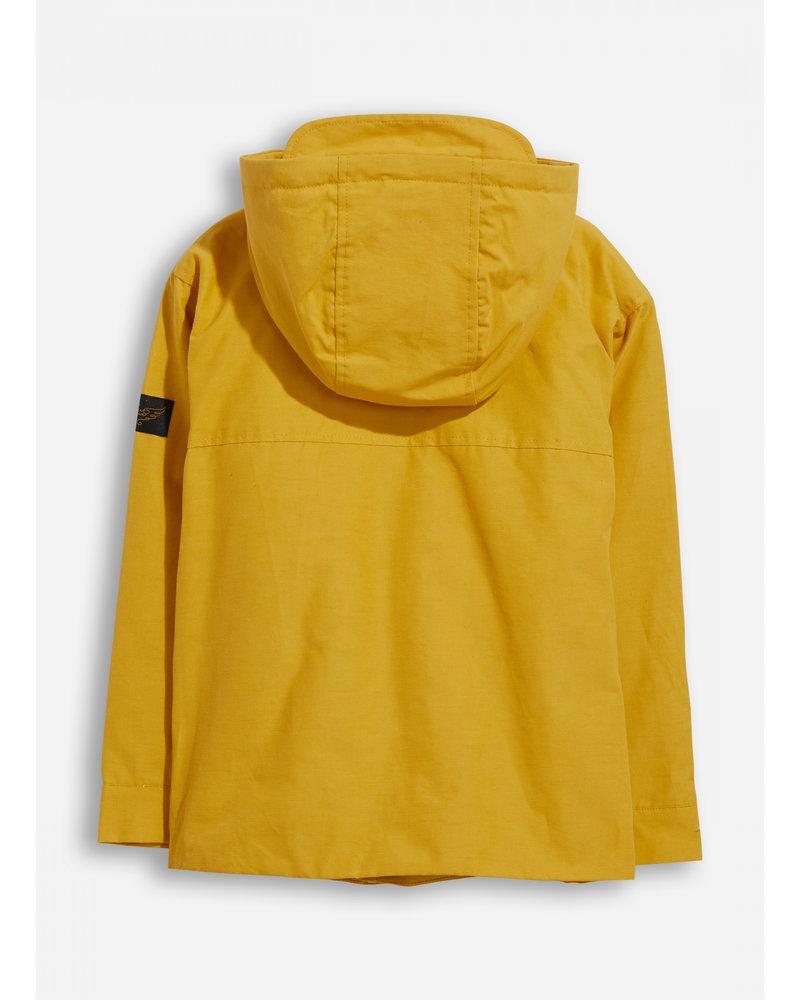 Finger in the nose zephyr mustard hooded jacket