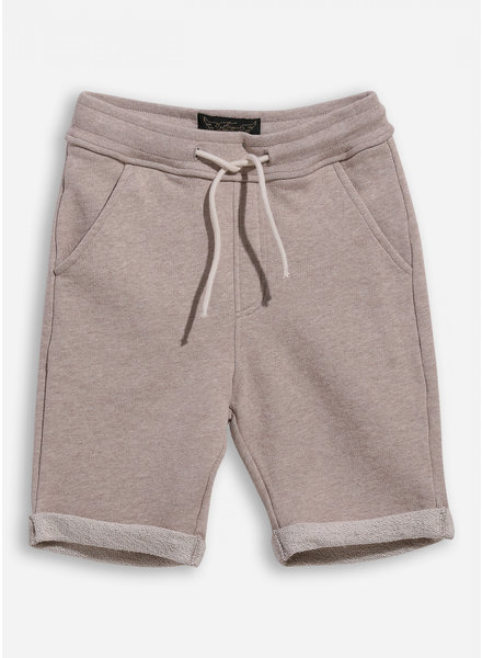 Finger in the nose new grounded heather sand bermudas