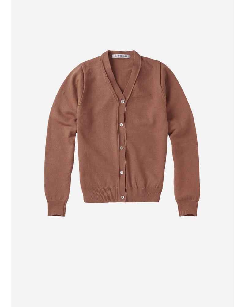 Mingo cardigan mid brown