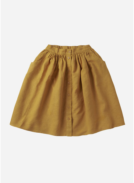 Mingo linen skirt spruce yellow