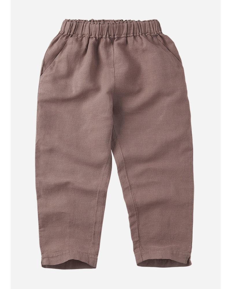 Mingo linen trouser antler