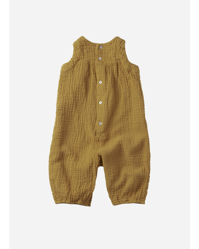 Mingo playsuit sl spruce yellow