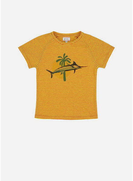 Morley harvey swordfish yellow boys shirt