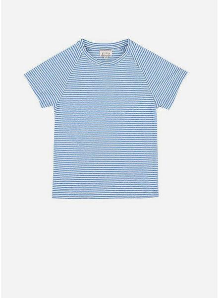 Morley harvey stripe bleu boys shirt