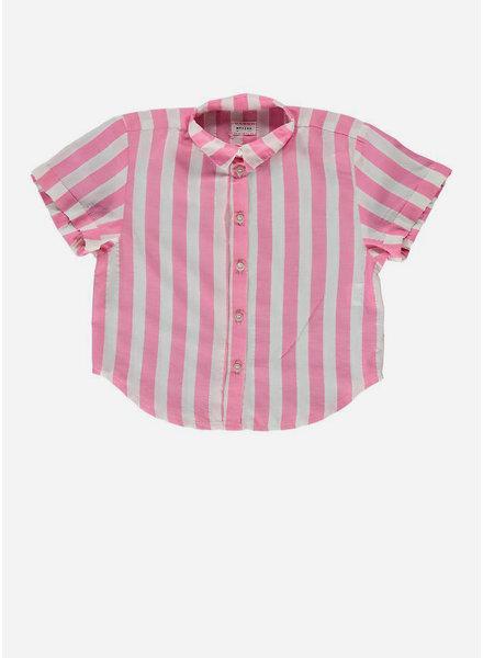 Morley hopi prato fuchsia girls shirt