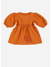 Morley laos tassle orange girls dress