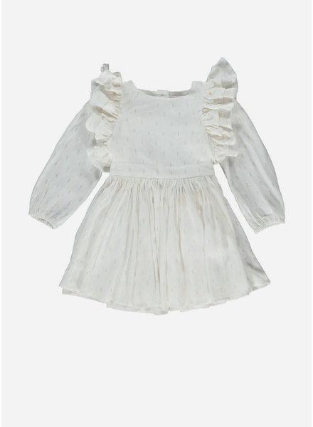 Morley laynah soka ecru girls dress