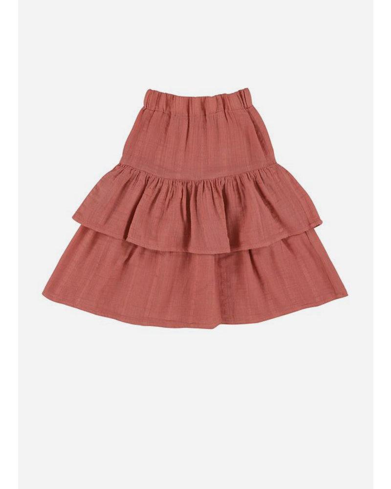 Morley laguna myrtille cantaloupe girls skirt