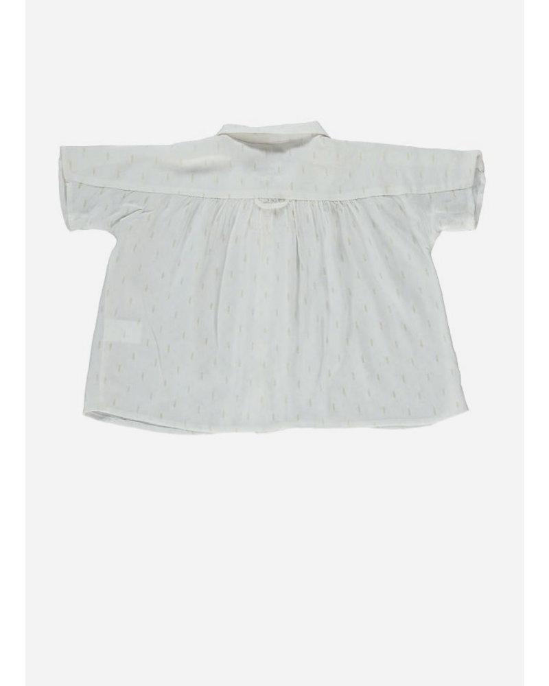 Morley livia soka ecru girls shirt