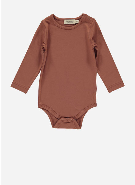 MarMar Copenhagen plain body ls - dusty brick
