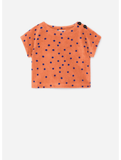 Bobo Choses dots terry short sleeve sweatshirt