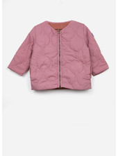 Bobo Choses reversible bird emroidery quilted jacket
