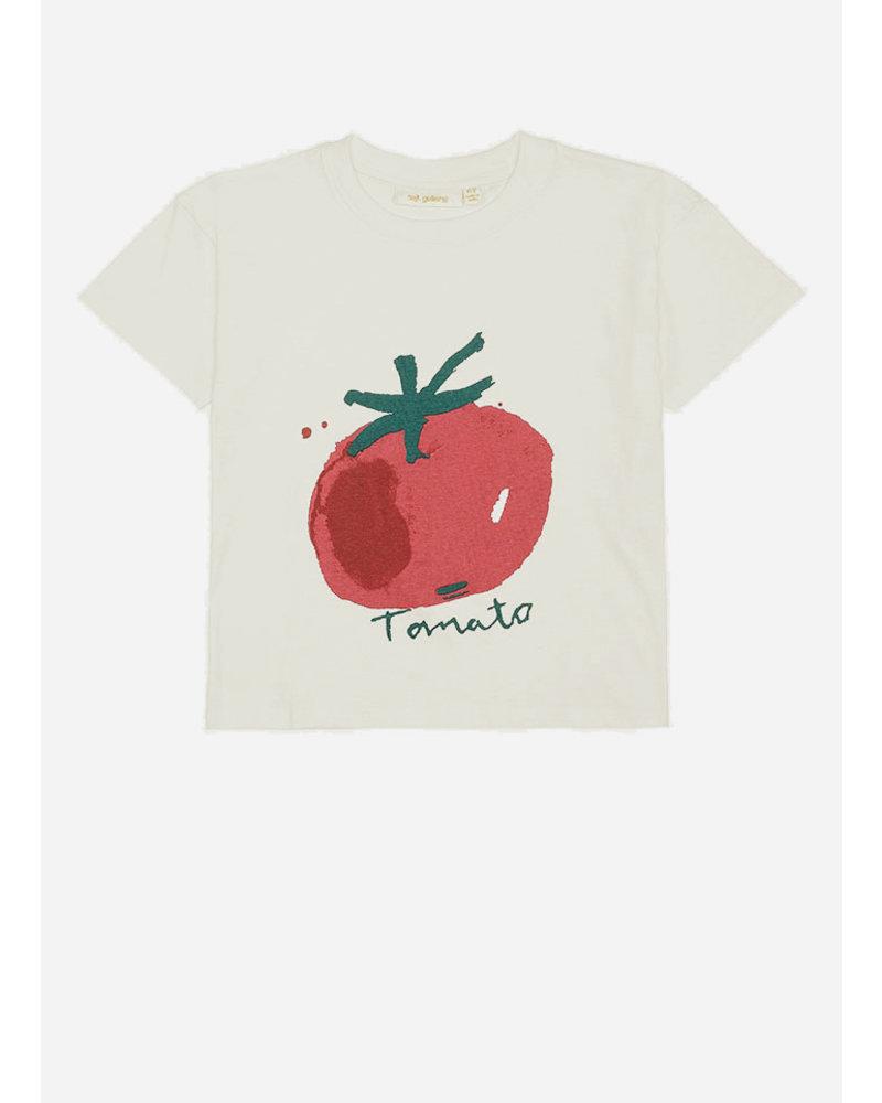 Soft Gallery dharma tshirt - gardenia tomato