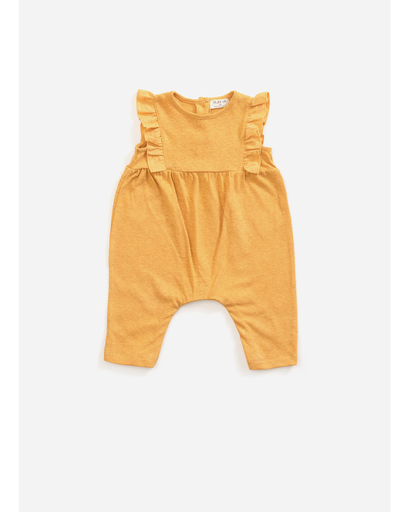 Play Up mixed jumpsuit - sea almond