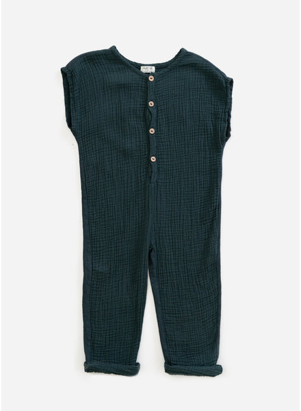 Play Up mixed jumpsuit - deep