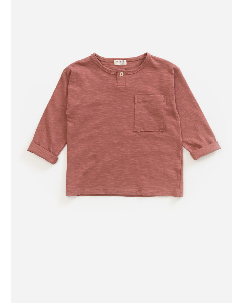 Play Up ls flame jersey tshirt - old tile