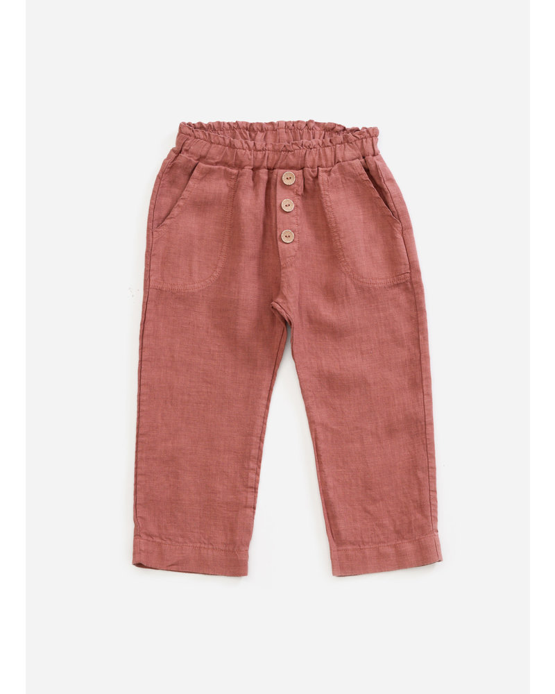 Play Up linen trousers - old tile