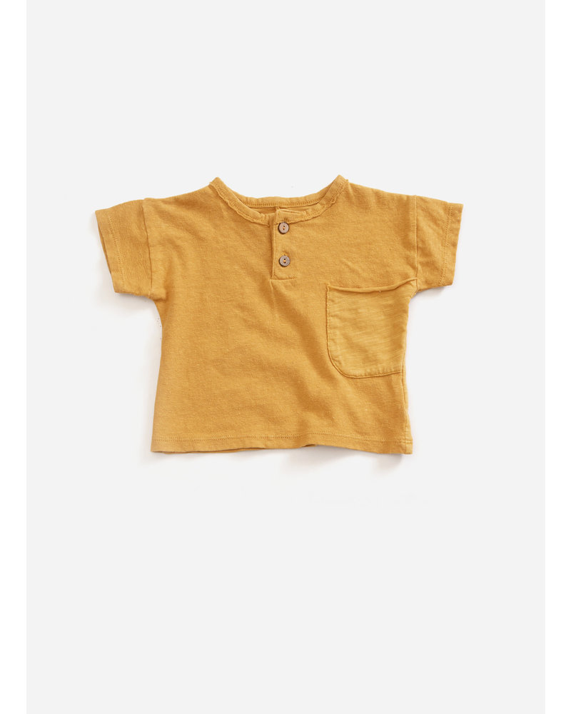 Play Up flame jersey tshirt - sea almond