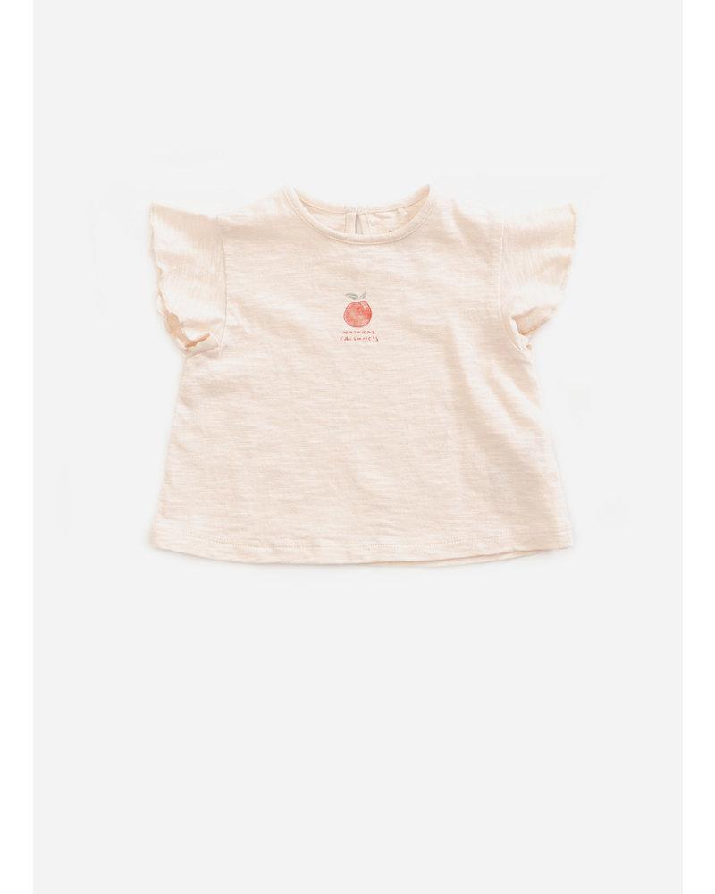 Play Up flame jersey tshirt - seashell