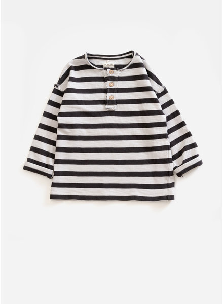 Play Up striped jersey sweater - basalt