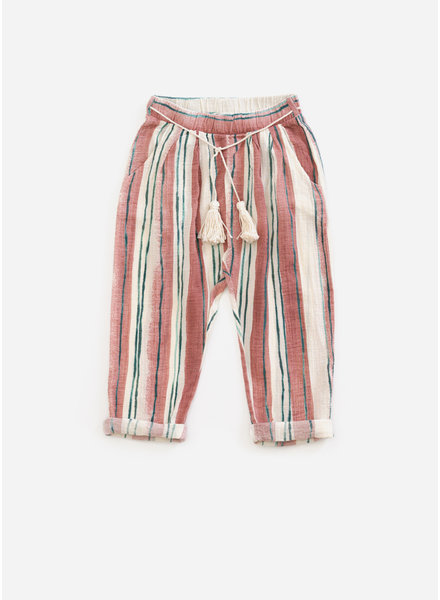 Play Up printed woven trousers - old tile