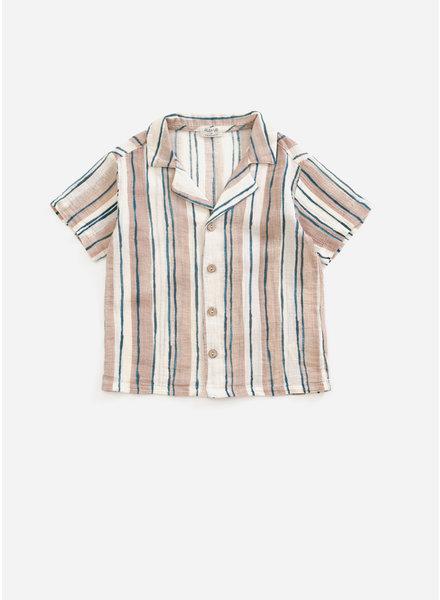 Play Up printed woven shirt - jute