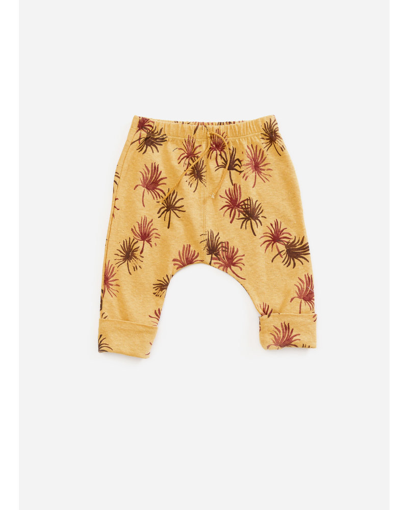 Play Up printed jersey trousers - sea almond