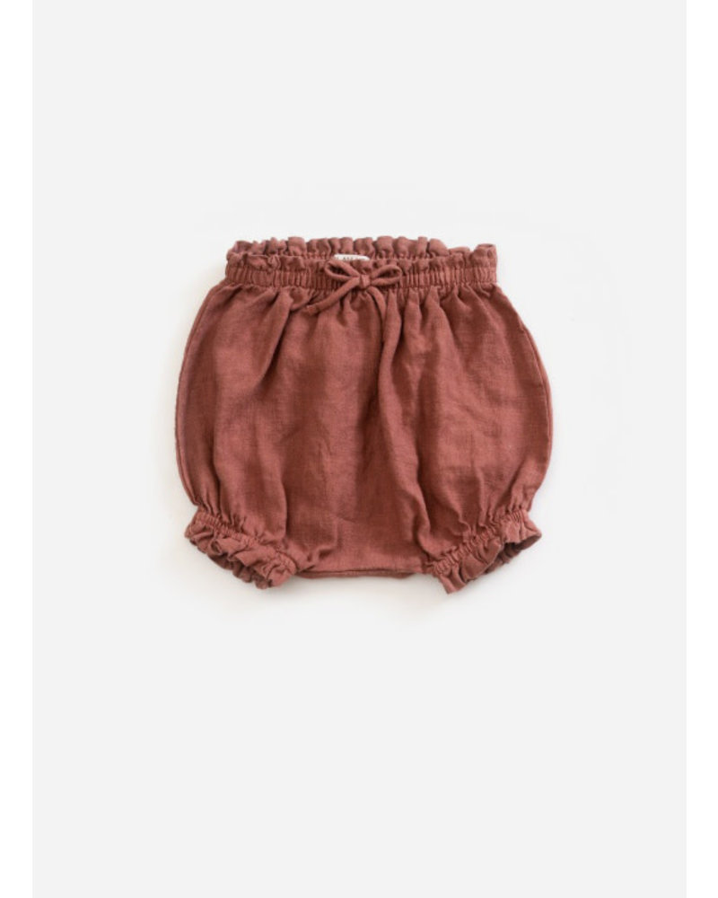 Play Up linen shorts - old tile