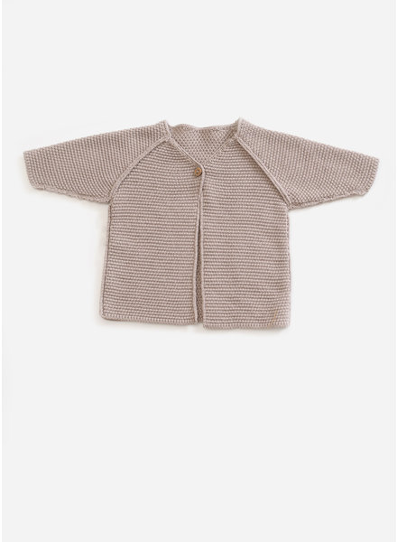 Play Up knitted sweater - jute