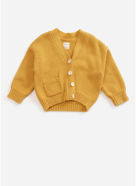 Play Up knitted jacket - sea almond