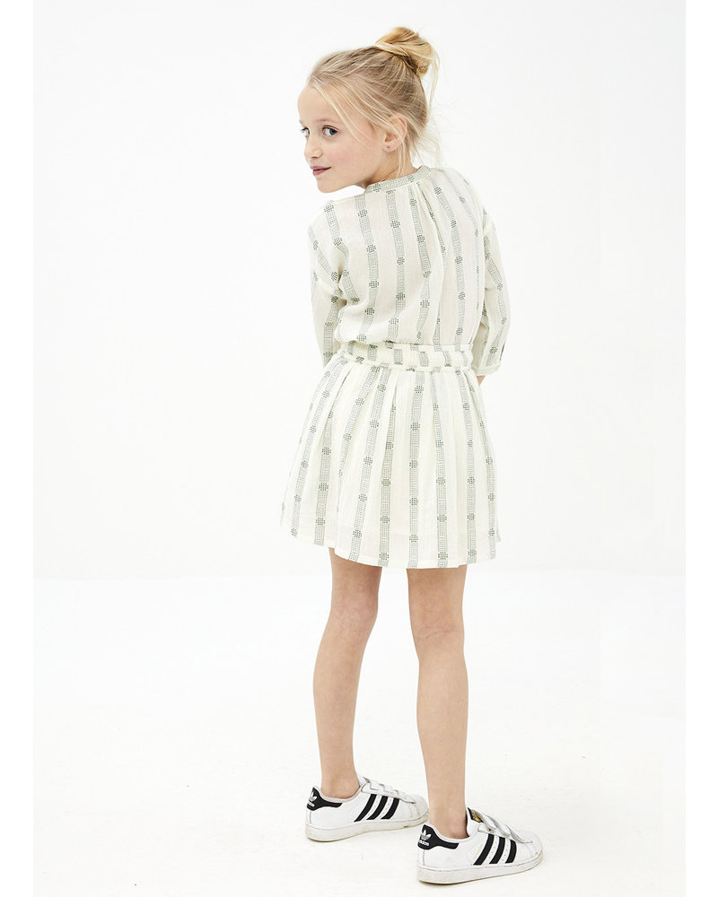 By Bar cecile stripe blouse - olive