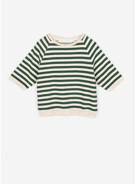By Bar lena dots pullover - evergreen