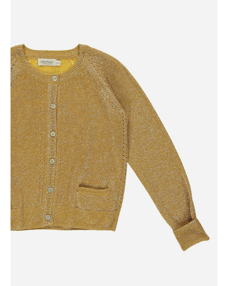MarMar Copenhagen tillie - golden lurex knit