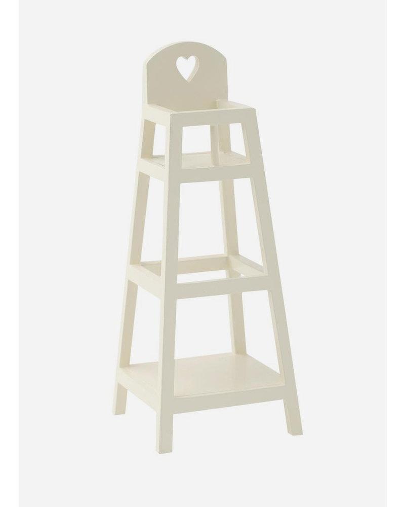 Maileg high chair MY white