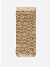 Maileg miniature rug 22 x 9 cm mustard