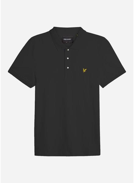 Lyle & Scott classic polo shirt true black