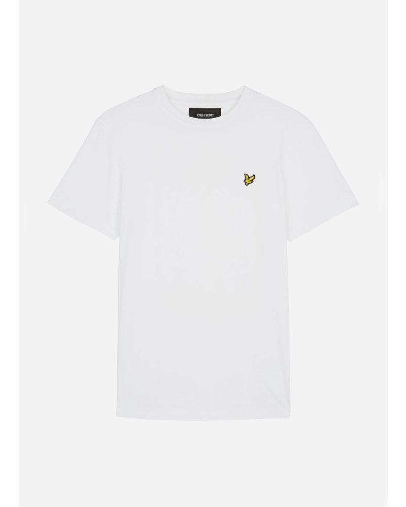 Lyle & Scott classic t-shirt bright white