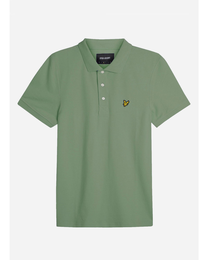 Lyle & Scott classic polo shirt hedge green