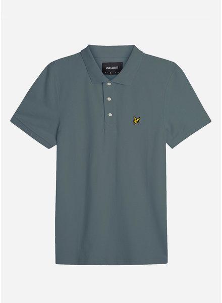 Lyle & Scott classic polo shirt orion blue