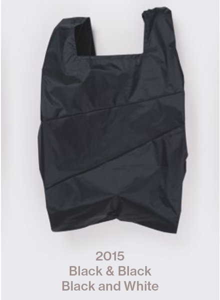 Susan Bijl recollection shopping bag black - black