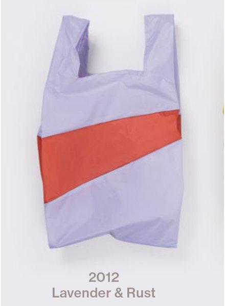 Susan Bijl recollection shopping bag lavender rust