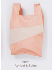 Susan Bijl recollection shopping bag, apricot - beige