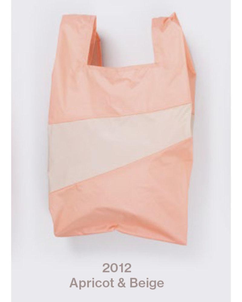 Susan Bijl recollection shopping bag, apricot - beige