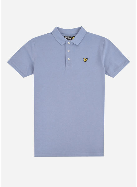 Lyle & Scott classic polo shirt stonewash