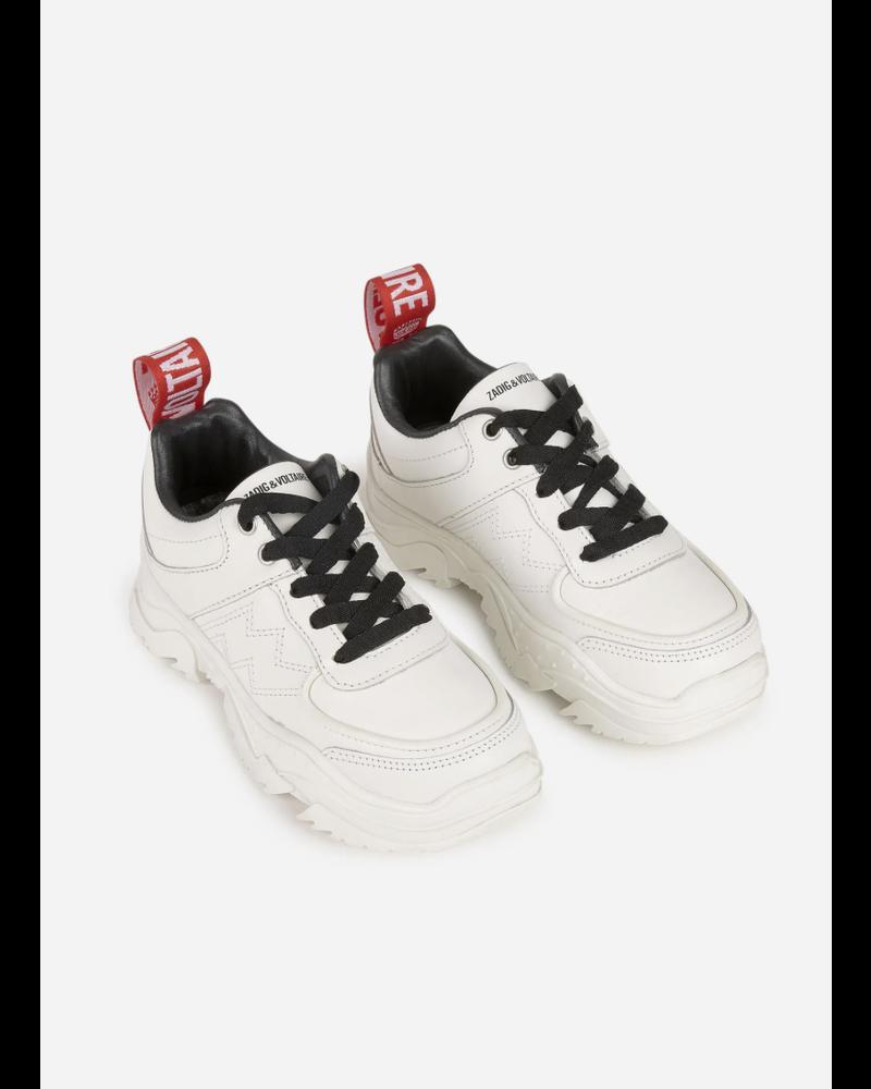 Zadig & Voltaire sneakers blanc
