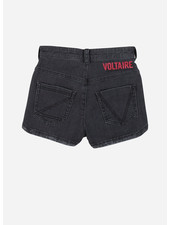Zadig & Voltaire short denim black lave
