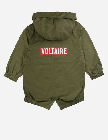 Zadig & Voltaire parka army green