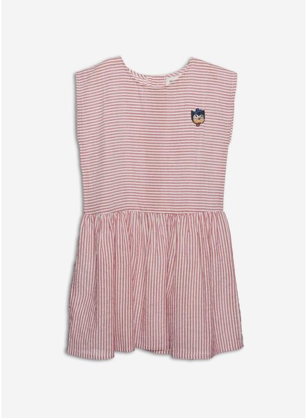 Wander & Wonder lilou dress rouge stripe