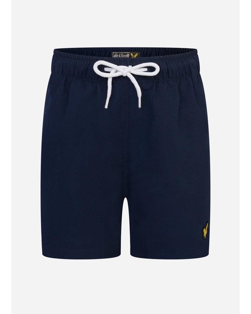 Lyle & Scott classic swim shorts navy blazer