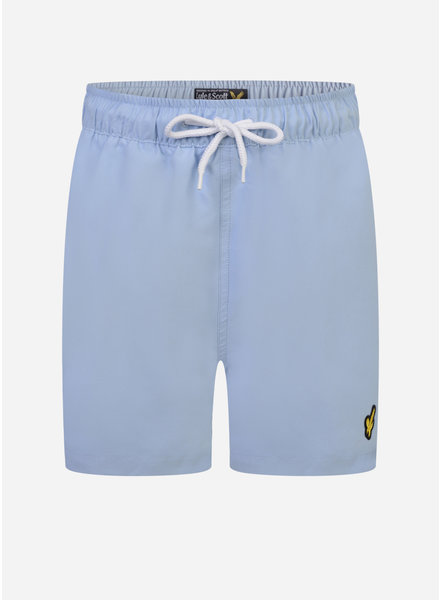Lyle & Scott classic swim shorts chambray blue